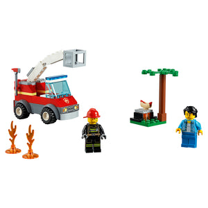 New Set 60212 City Barbecue Burn Out