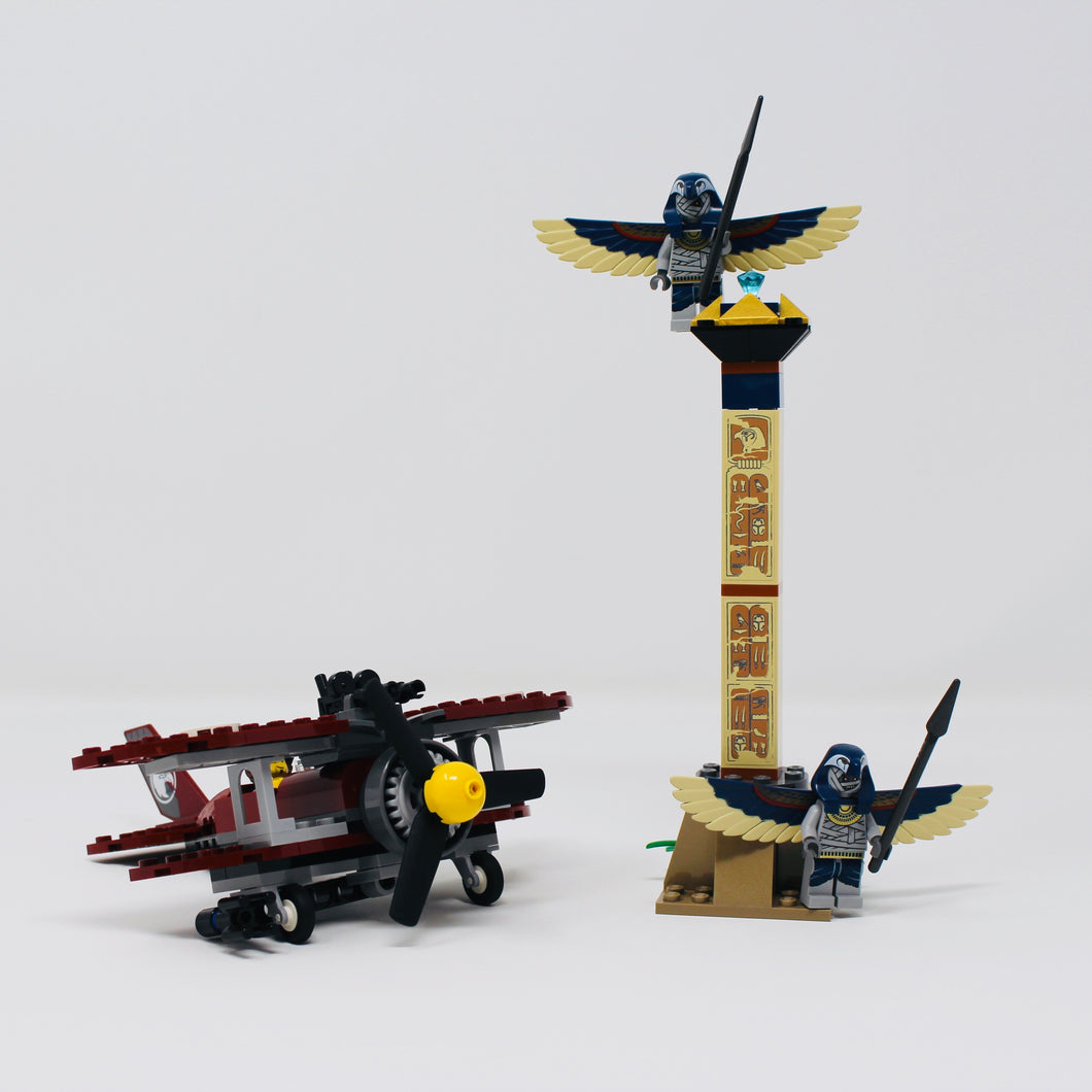 Used Set 7307 Pharaoh's Quest Flying Mummy Attack