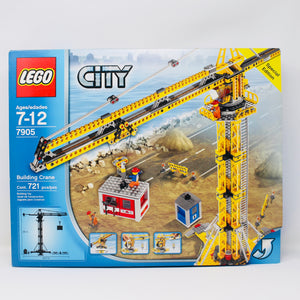 Retired Set 7905 City Building Crane
