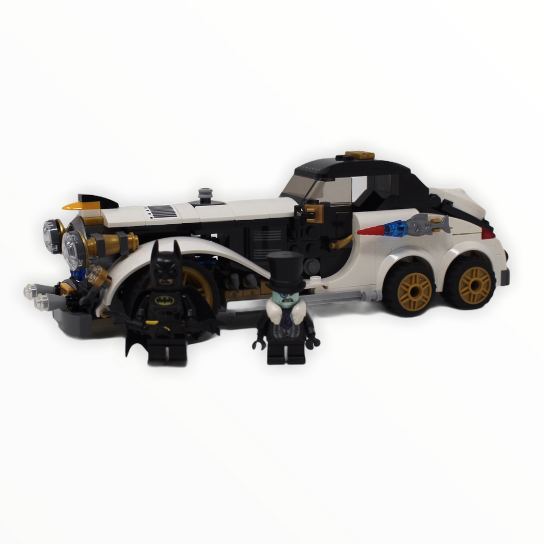 Used Set 70911 LEGO Batman Movie The Penguin Arctic Roller