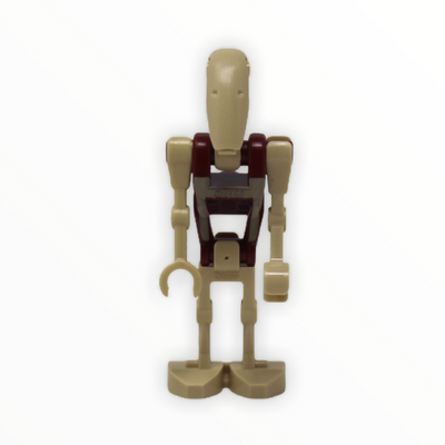 Battle Droid Security (tan insignia, red dot on head)
