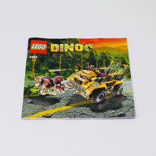 Used Set 5885 Dino Triceratops Trapper