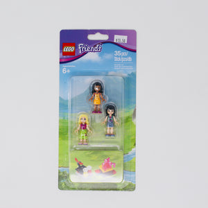 Retired Set 853556 Friends Mini-doll Campsite Set