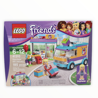 Retired Set 41310 Friends Heartlake Gift Delivery