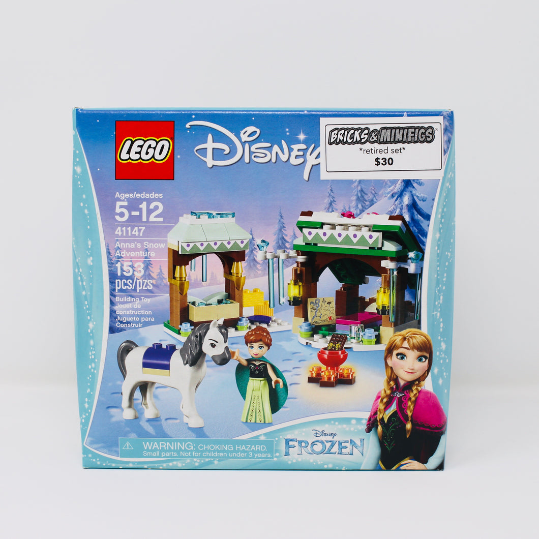 Retired Set 41147 Frozen Anna's Snow Adventure