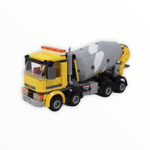 Used Set 60018 City Cement Mixer