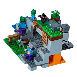New Set 21141 Minecraft The Zombie Cave
