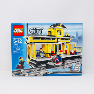 Retired Set 7997 City Train Station