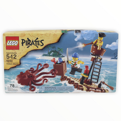 Retired Set 6240 Pirates Kraken Attackin'