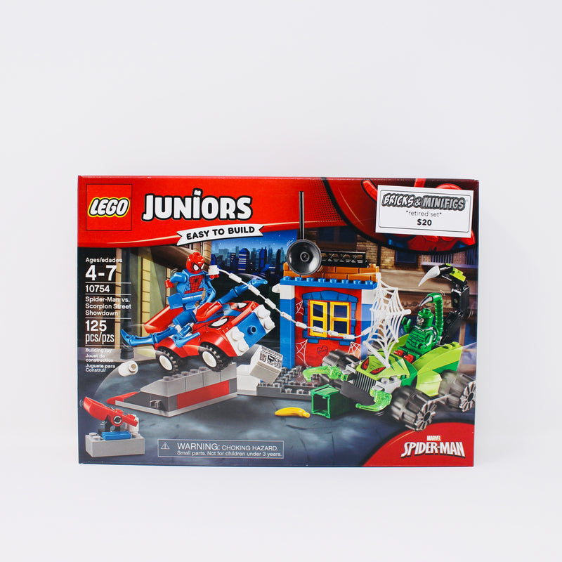 Spider-Man vs LEGO® Juniors Scorpion Street Showdown 10754 125 Pcs