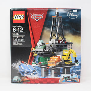 Certified Used Set 9486 Cars 2 Oil Rig Escape