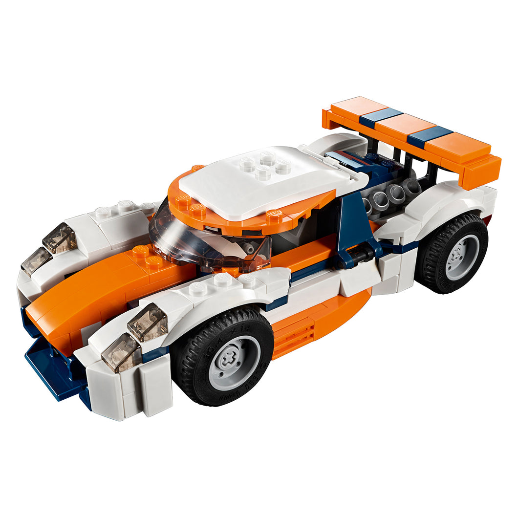 New Set 31089 Creator Sunset Track Racer