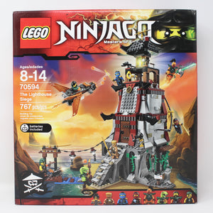 Retired Set 70594 Ninjago The Lighthouse Siege