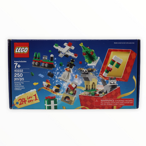 Certified Used Set 40222 LEGO Holiday Countdown Calendar