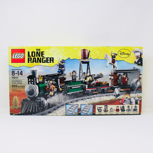 Certified Used Set 79111 The Lone Ranger Constitution Train Chase