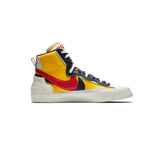 Blazer Mid x Sacai YELLOW UNVERSITY RED UNIVERSITY MARINE BLUE