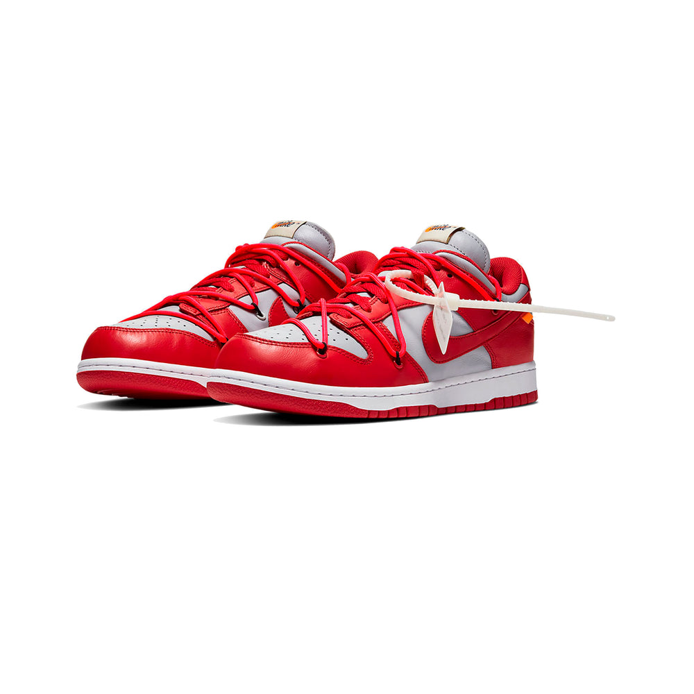 Dunk Low x Off-White UNIVERSITY RED