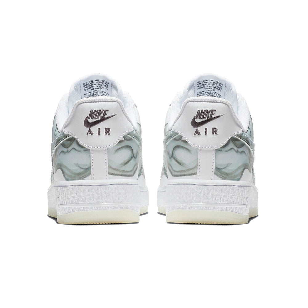 Air Force 1 SKELETON WHITE