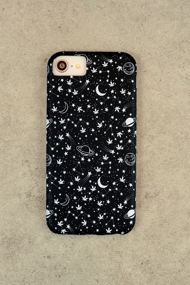 Lightly Toasted Celestial Print iPhone Case