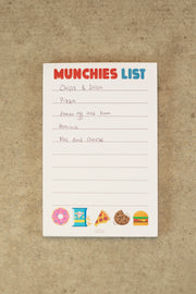 Lightly Toasted 'Munchies List' Magnetic Notepad