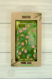 Lightly Toasted Pizza Print iPhone Case in packaging