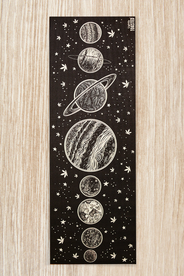 Lightly Toasted Planetary Yoga Mat