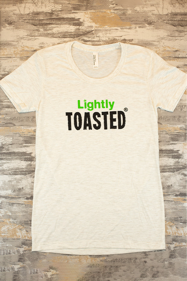 Lightly Toasted T-Shirt - Lightly Toasted Logo (Womens)
