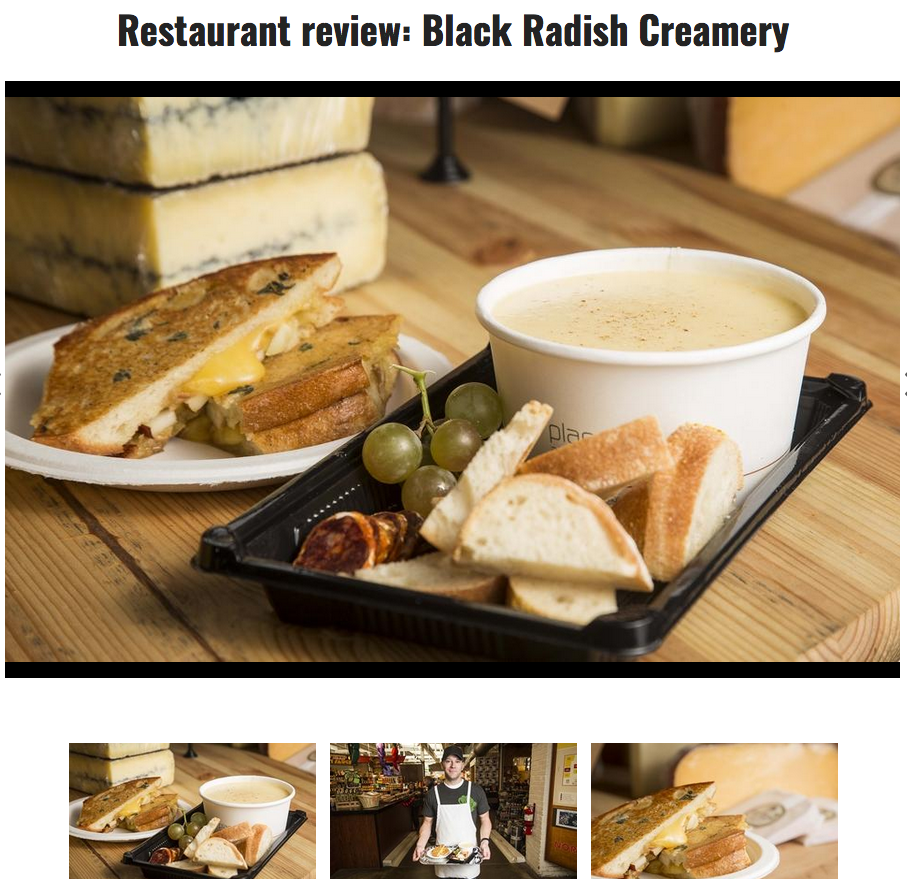 BRC Fancy Grilled Cheese & Fondue Review by Columbus Alive Magazine!