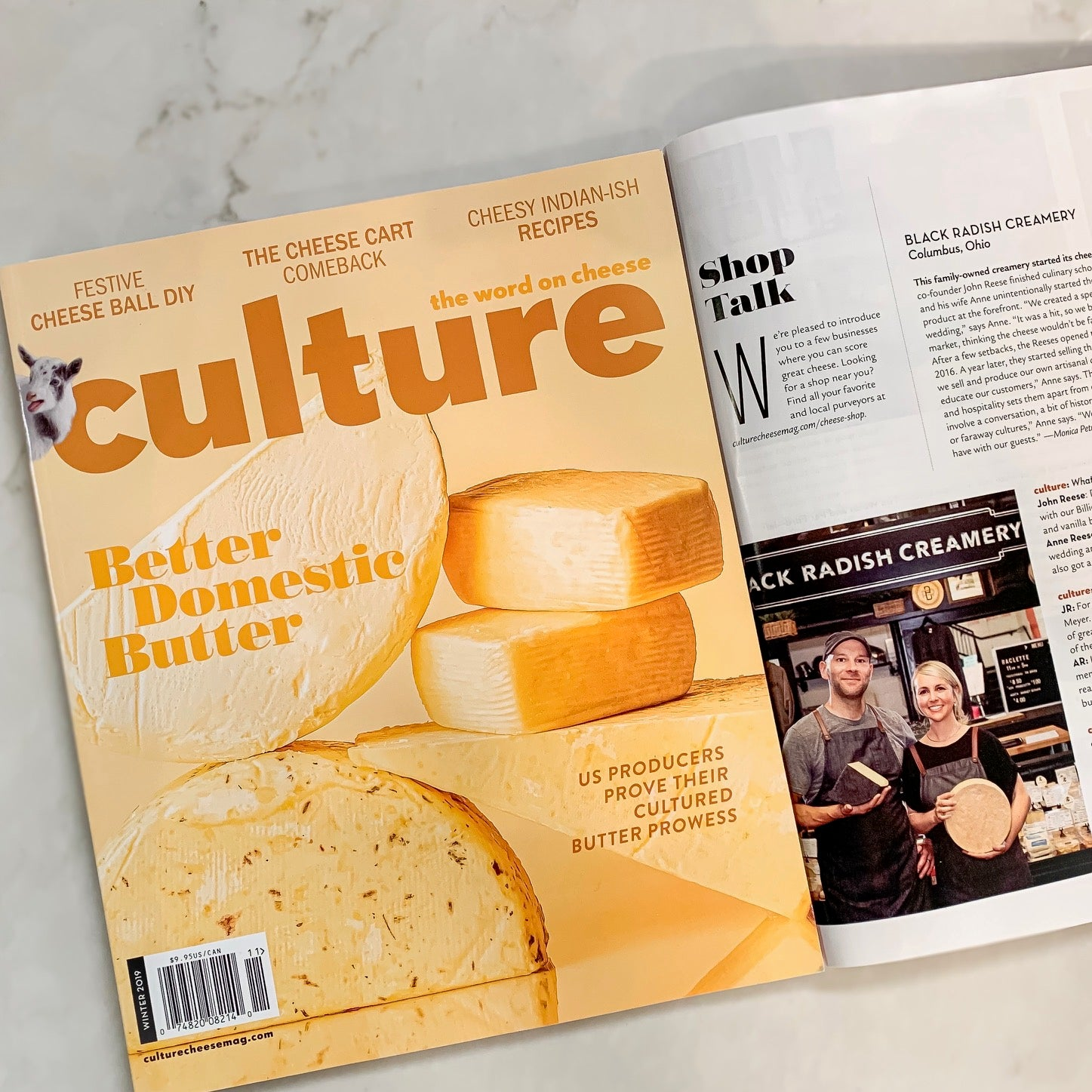 BRC Cheese Shop Featured in Culture Magazine!