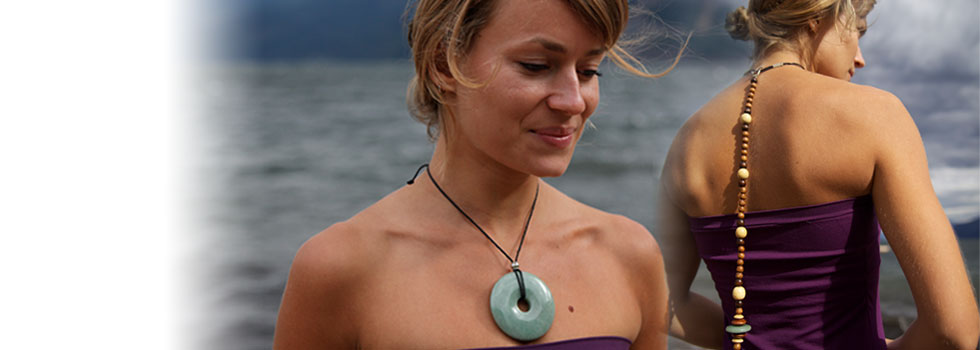 Posture Beads is an innovative and attractive necklace that promotes postural awareness.