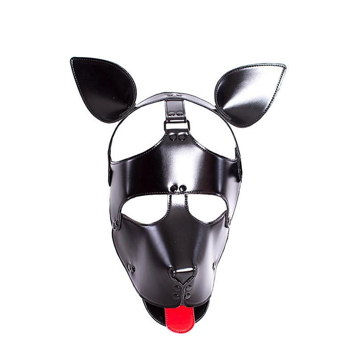 Dog Mask with Ears and Tongue - Lingerie SexWeLove ™ Online Adult Shop & Sexy Lingerie Sexwelove