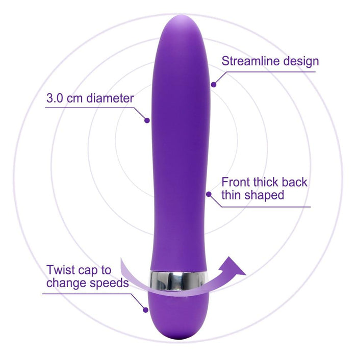 Dildo Vibrator Waterproof (Speed Adjustable) - sex toys SexWeLove ™ Online Adult Shop & Sexy Lingerie Sexwelove