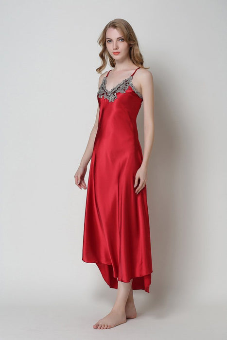 Sexy Silk Satin Nightgown Sleeveless - Lingerie SexWeLove ™ Online Adult Shop & Sexy Lingerie Sexwelove
