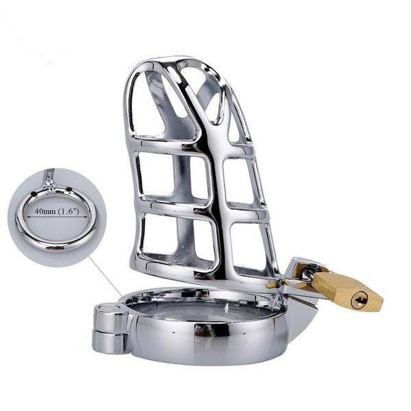 Steel Cock Cage Chastity (40/45/50mm) - sex toys SexWeLove ™ 40mm Online Adult Shop & Sexy Lingerie Sexwelove