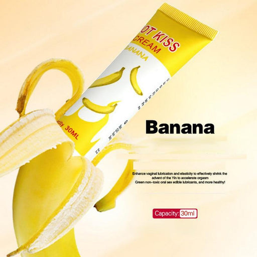 Banana Flavor Lubricant (30ml) - Lubricants SexWeLove ™ Banana Online Adult Shop & Sexy Lingerie Sexwelove