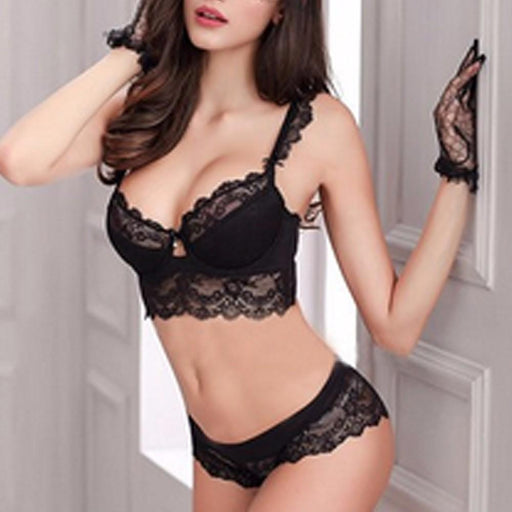 Vogue Secret Sexy Bra Set Flower Lace - Lingerie SexWeLove ™ Online Adult Shop & Sexy Lingerie Sexwelove