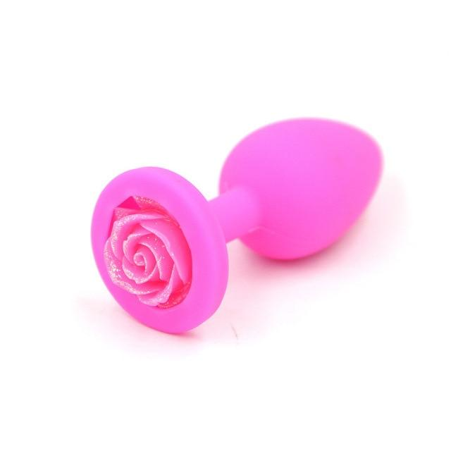 Original Butt Plug - sex toys SexWeLove ™ Rose Pink Online Adult Shop & Sexy Lingerie Sexwelove