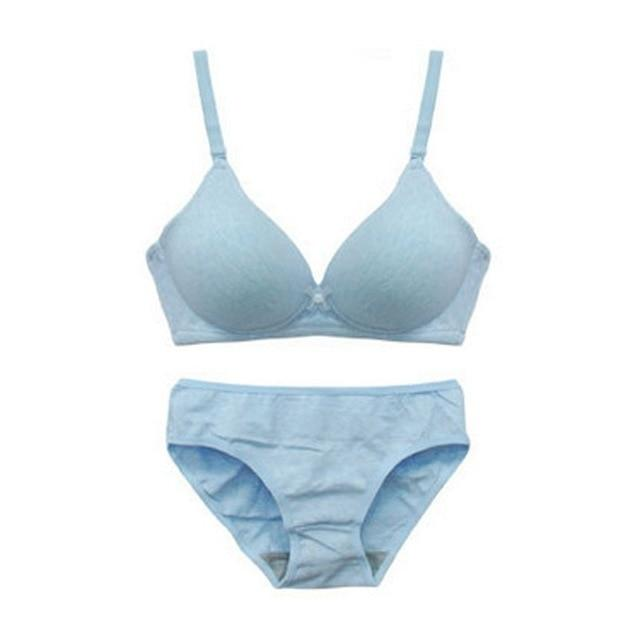 Bra Sets Push-Up Padded & Panties - Lingerie SexWeLove ™ Blue / B / 32 Online Adult Shop & Sexy Lingerie Sexwelove