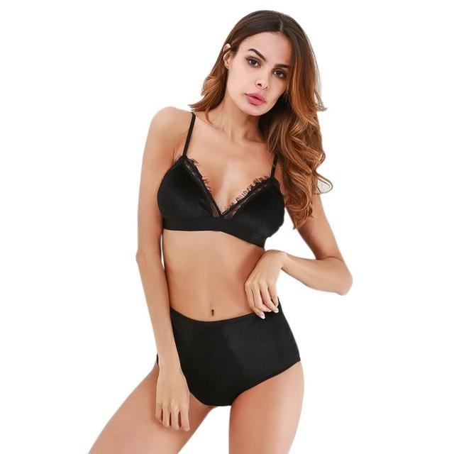 Sexy Set Push Up& Bra set - Lingerie SexWeLove ™ Black / L Online Adult Shop & Sexy Lingerie Sexwelove