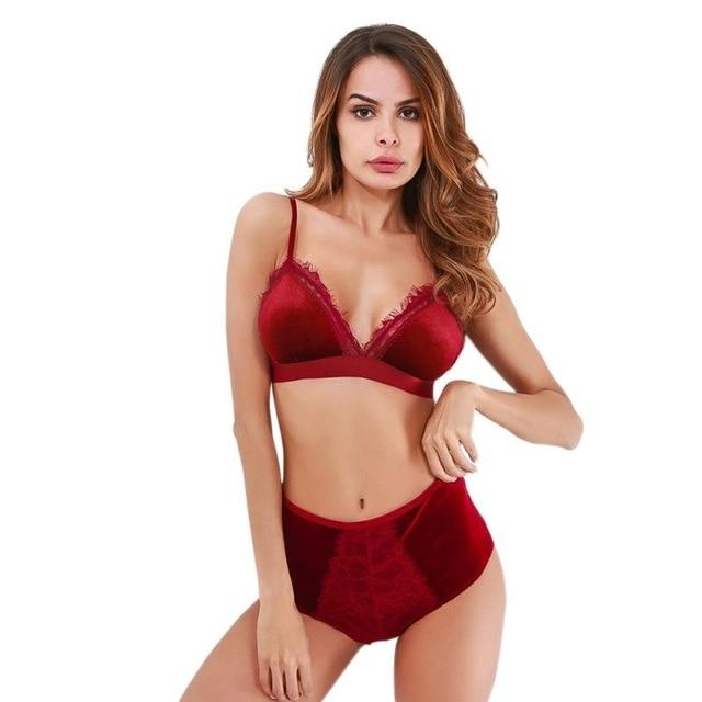 Sexy Set Push Up& Bra set - Lingerie SexWeLove ™ Red / L Online Adult Shop & Sexy Lingerie Sexwelove