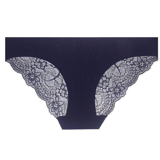 Sexy Lace Panties Cotton - Lingerie SexWeLove ™ Hideblue / L Online Adult Shop & Sexy Lingerie Sexwelove