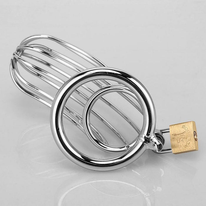 Steel Cock Cage Chastity (40/45/50mm) - sex toys SexWeLove ™ Online Adult Shop & Sexy Lingerie Sexwelove