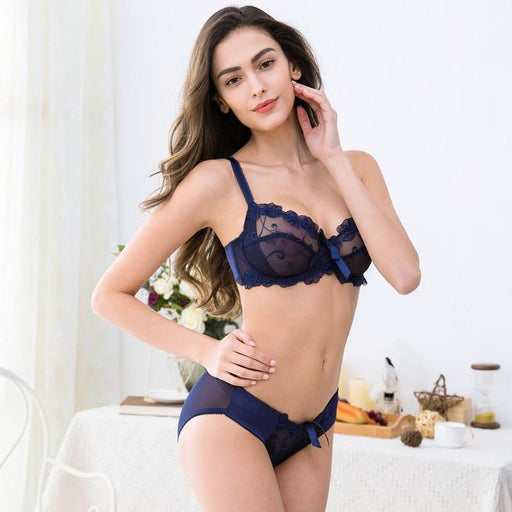 Sexy Slim Lace Floral Size Bra Sets - Lingerie SexWeLove ™ Online Adult Shop & Sexy Lingerie Sexwelove