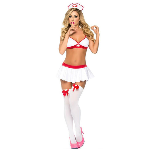 Sexy Nurse Costume (White) - Lingerie SexWeLove ™ Online Adult Shop & Sexy Lingerie Sexwelove
