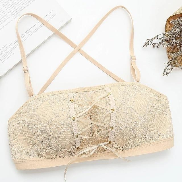 Sexy Strapless Bra - Lingerie SexWeLove ™ Beige / 70A Online Adult Shop & Sexy Lingerie Sexwelove