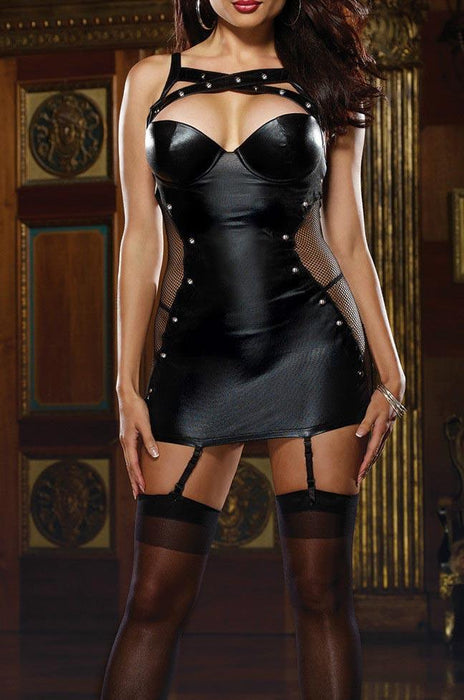 Sexy Wet Mini Dress with G-String - Lingerie SexWeLove ™ Online Adult Shop & Sexy Lingerie Sexwelove