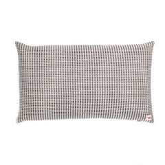 Waffle Design rectangular 'Mindful' winter stripe cotton cushion