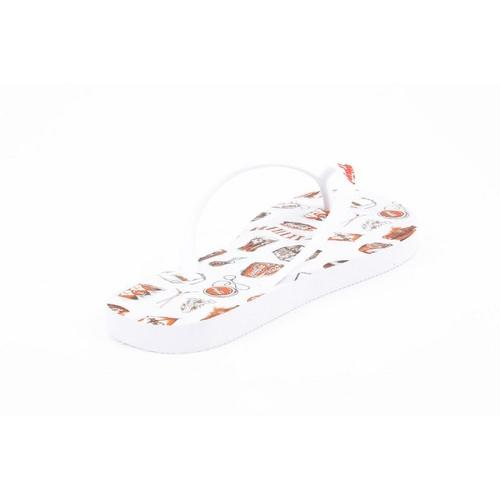 Coca Cola ladies flip flop CCA0636 ACE WHITE