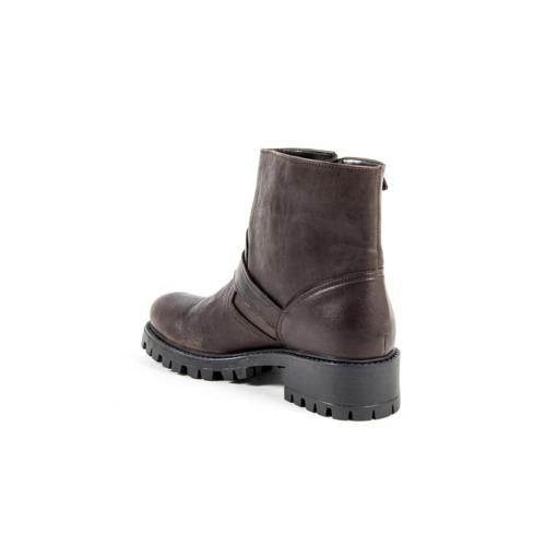 V 1969 Italia Womens Short Boot B1441 VITELLO T. MORO