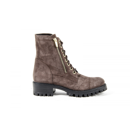 V 1969 Italia Womens Short Boot Brown STONE